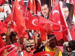 Başbakan Erdoğan, Düsseldorf'taki Halka Seslendi
