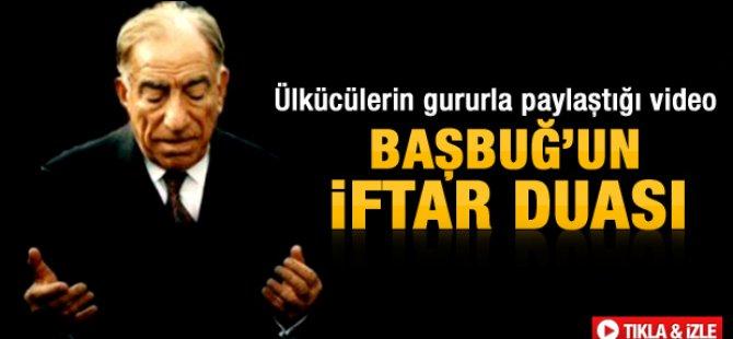 Alparslan Türkeş'in iftar duası-video