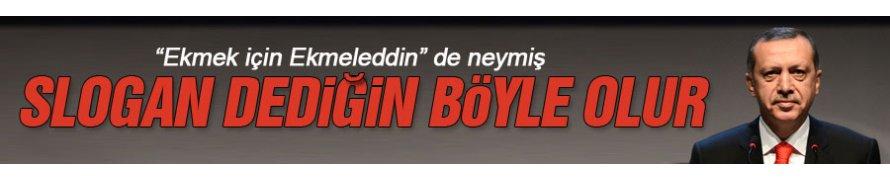 Erdoğan'ın seçim sloganı