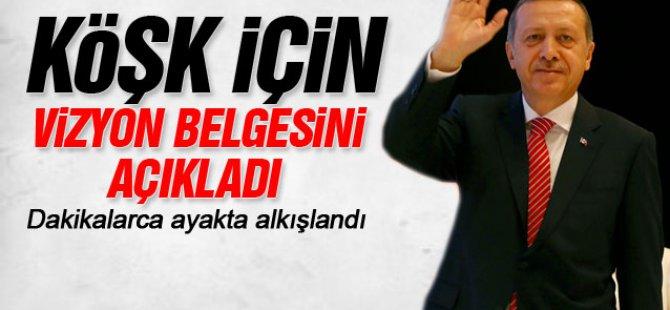 Erdoğan,Cumhurbaşkanlığı Türkiye Vizyon Belgesini açıkladı