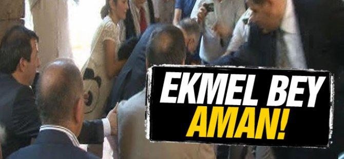 Ekmeleddin İhsanoğlu, düşme tehlikesi atlattı-video