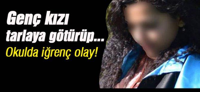 Öğretim üyesi hoca genç kızı tarlaya götürüp cinsel tacizde bulundu