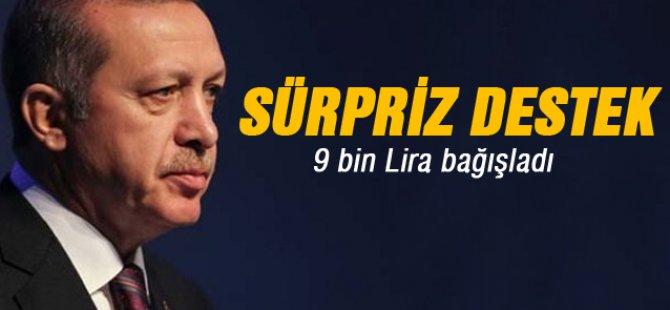 Sakık'ın kardeşi 9 bin TL bağışladı