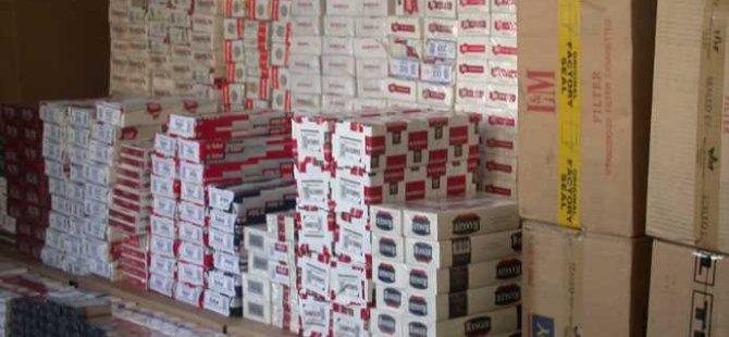 KAYSERİ'DE BİN 900 PAKET KAÇAK SİGARA ELE GEÇİRİLDİ