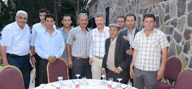 KAYSERİ ŞEKER DEVELİ'DE İFTAR VERDİ