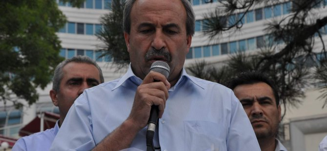 KAYSERİ GÜNÜLLÜLER KURULU VE MEMUR-SEN'DEN GAZZE'YE SALDIRAN İSRAİL'E PROTESTO