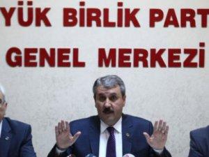 Büyük Birlik Partisi'nde İhsanoğlu depremi