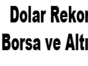 Dolar Rekor Kırdı Borsa ve Altın Düştü!