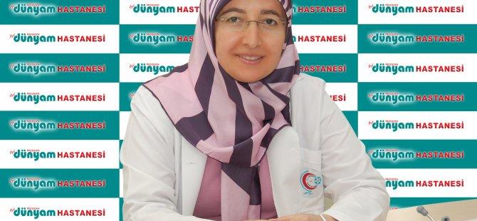DAHİLİYE UZMANI DR. ZELİHA GÖKTAŞ'TAN BAYRAM UYARISI