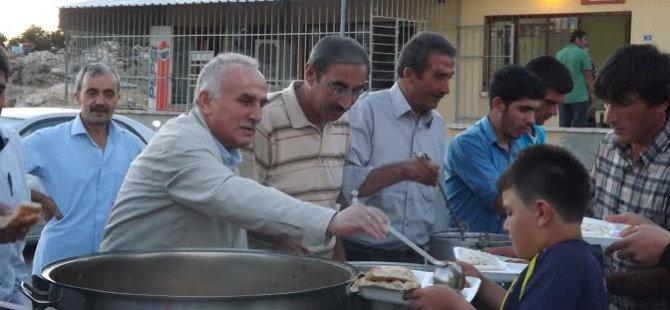 Yeşilhisar Belediyesi İftar Sofrası