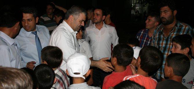 BAŞKAN ÇELİK, YEMLİHA'DA  İFTAR YAPTI, ASKER UĞURLADI