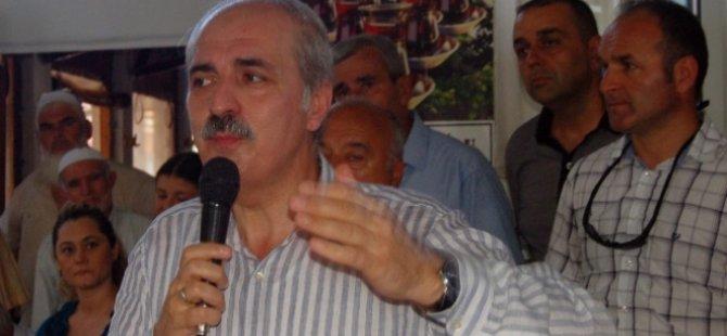 AK Parti Genel Başkan Yardımcısı Numan Kurtulmuş: