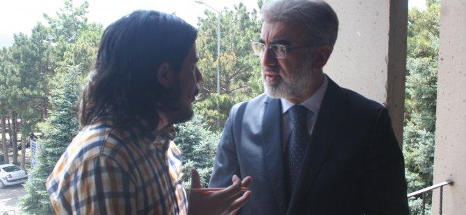 BAKAN YILDIZ KAYSERİNEWS'E ÖNEMLİ AÇIKLAMALAR YAPTI
