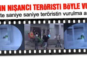 Hakkari'de Polis teröristi tek kurşunla indirdi