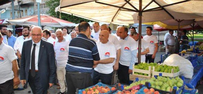 AK Parti Kayseri teşkilatı, Cumhurbaşkanlığı için seçim startını İncesu ilçesinden verdi