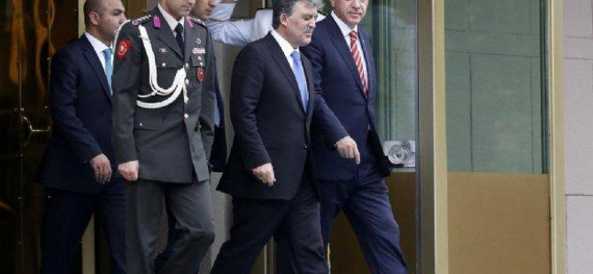 Kayserinin Guru Gül'den Erdoğan'a veda ziyareti