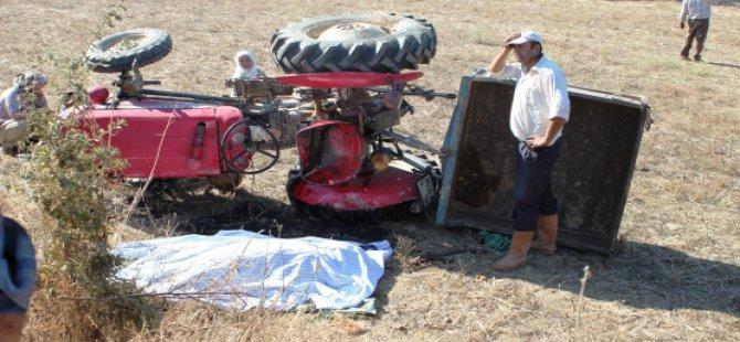 Develi'de Kaçırdığı Traktör Sonu Oldu 1 Ölü, 5 Yaralı