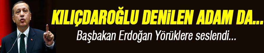 Cumhurbaşkanı adayı ve Başbakan Recep Tayyip Erdoğan, Ankara'da Yörüklere seslendi
