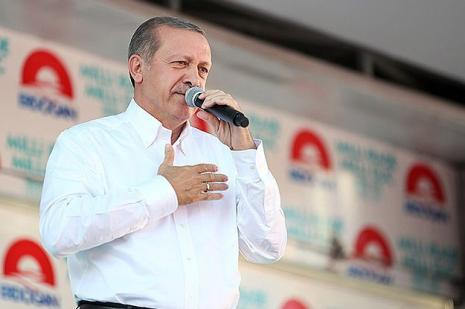 """BAŞBAKAN ERDOĞAN KAYSERİ'DE KONUŞTU """"DOĞRU, EKMEL BEY İLE EŞİT DEĞİLİZ"""""""