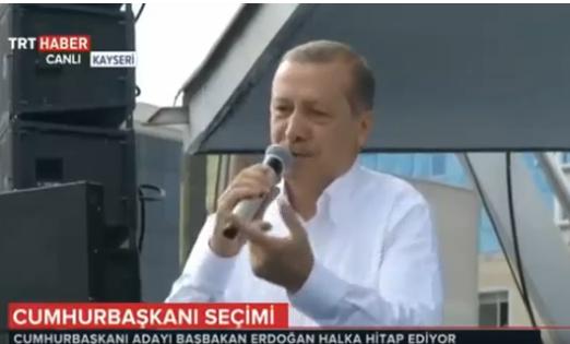 BAŞBAKAN ERDOĞAN KAYSERİ'DE KARADENİZ FIKRASI ANLATTI - VİDEO
