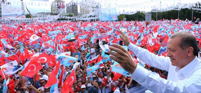 Erdoğan: Devlet Bahçeli sende zerre kadar yüz olsa çeker gidersin