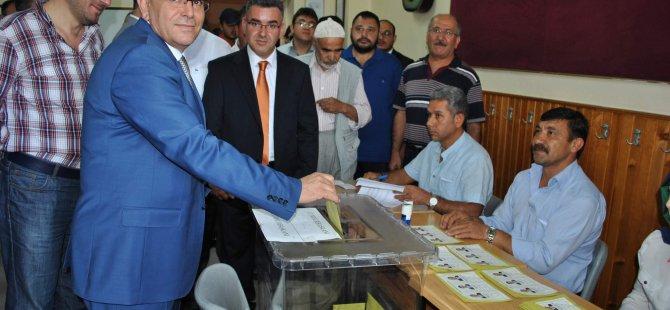 Ak Parti İl Başkanı Özden Huzurlu bir seçim oluyor