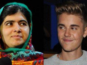 Justin Bieber Malala ile Facetime'dan konuştu