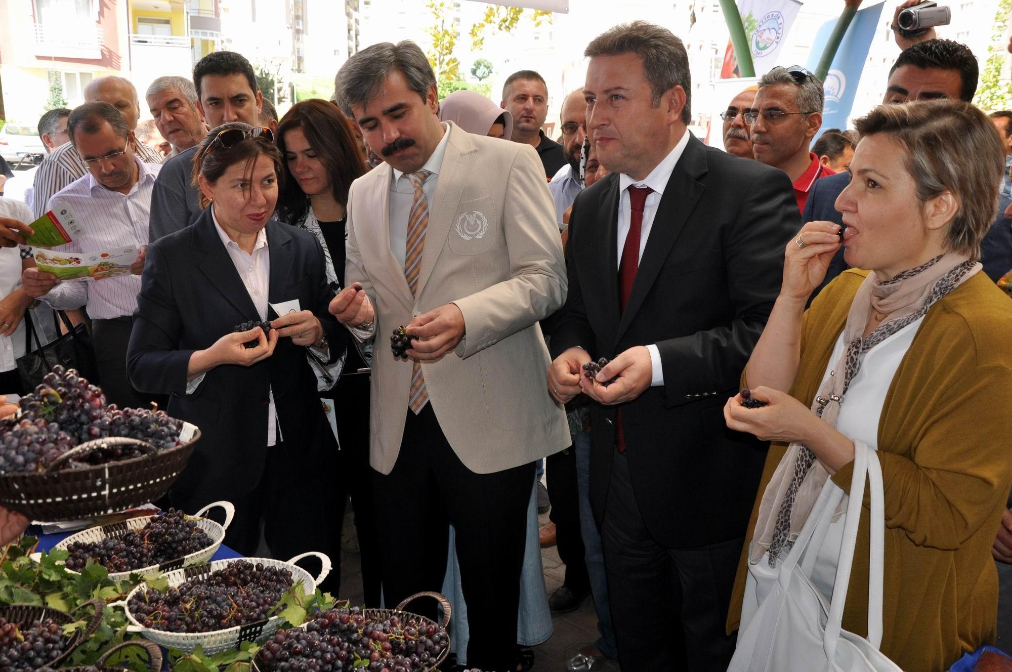 Talas'ta Organik Ürün Pazarı Açıldı