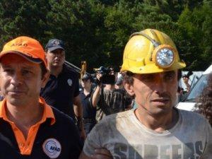 Zonguldak'ta Mahsur Kalan 9 İşçi Kurtarıldı