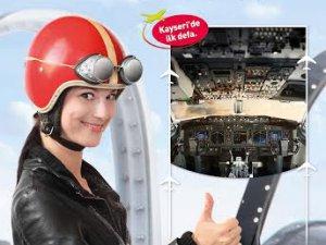 Forum Kayseri'de Boeing 737 ile uçmaya  hazırlanın!