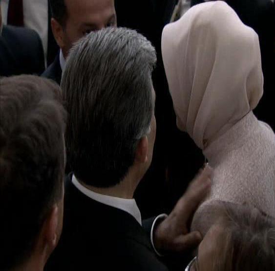 Abdullah Gül'den, Hayrunnisa Gül'e: ''Yeter Artık'' VİDEO