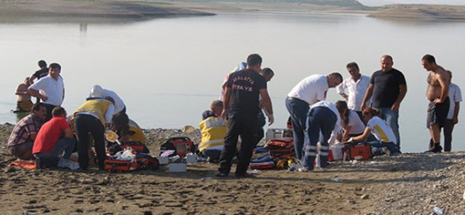 Malatya'da facia! 4 çocuk baraj gölünde boğuldu