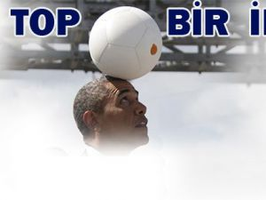Barack Obama'dan Futbol Şov