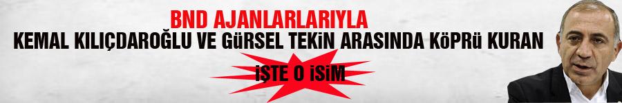 Kemal Kılıçdaroğlu ve Gürsel Tekin'i Alman ajanlarla bir araya getirdi.