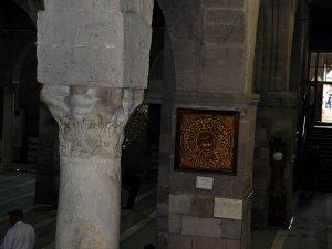 Kayseri'de tarihi Cami Kebir'de bulunan: