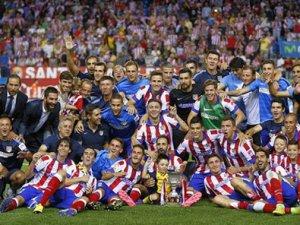 Kral Kupası'nın sahibini Atletico Madrid