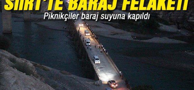 Piknikçiler baraj suyuna kapıldı: 5 ölü-Video
