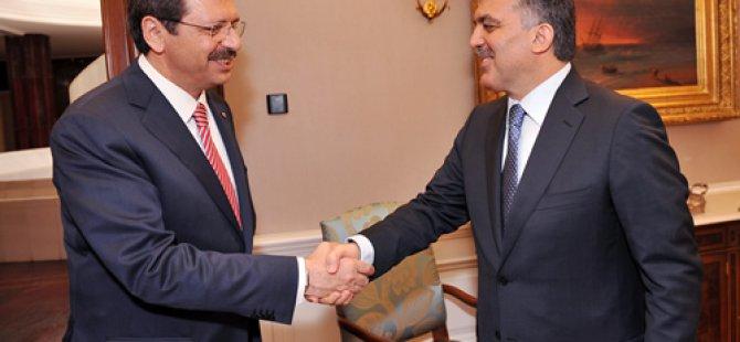 Abdullah Gül Ve Hisarcıklıoğlu'nun görüşmelerini sızdırdılar