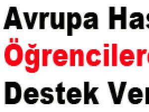 Avrupa Hastanesi Öğrencilere Destek Verdi