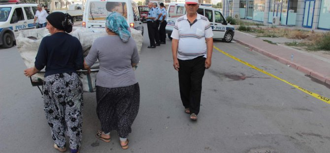 Kayseri'de bir kişi, boşanmak üzere olduğu eşin Bıçakladı