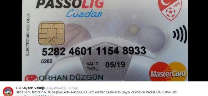 KAYSERİ VALİSİ DÜZGÜN'DEN ERCİYESSPOR'A DESTEK