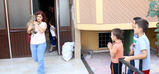 KAYSERİ'DE ANNESİNİN TERK ETTİĞİ YAVRU