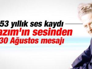 Nazım Hikmet ve 30 Ağustos Zafer Bayramı-video