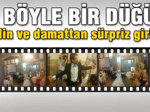Gelin Ve Damat'tan Harika bir düğün girişi-Video