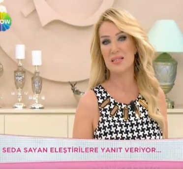 Seda Sayan'dan kendini eleştirenlere tepki VİDEO