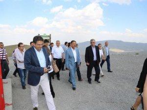 KENTLER ZİRVESİ'NİN KATILIMCILARI KAYSERİ'Yİ GEZDİ