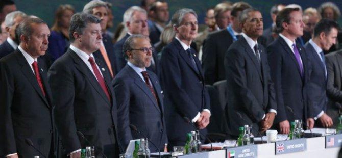 Erdoğan, NATO Zirvesi'nde liderlere sert çıktı.