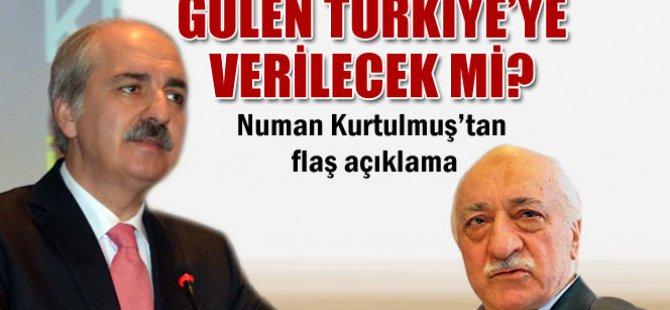 Sayın Fethullah Gülen'in Türkiye'ye iadesi meselesi hukuki bir süreçtir