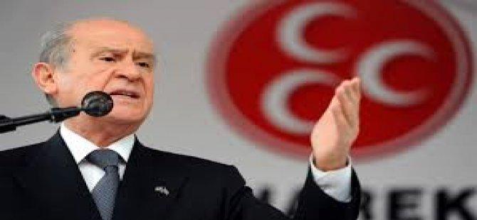 """BAHÇELİ """"DİNLEME SKANDALLARI REZALET ÖTESİ"""""""