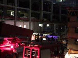 Mecidiyeköy'de inşaat asansörü zemine çakıldı 6 kişi öldü